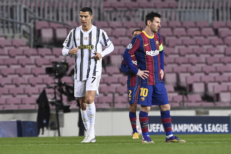 Football ligue des champions Messi Ronaldo