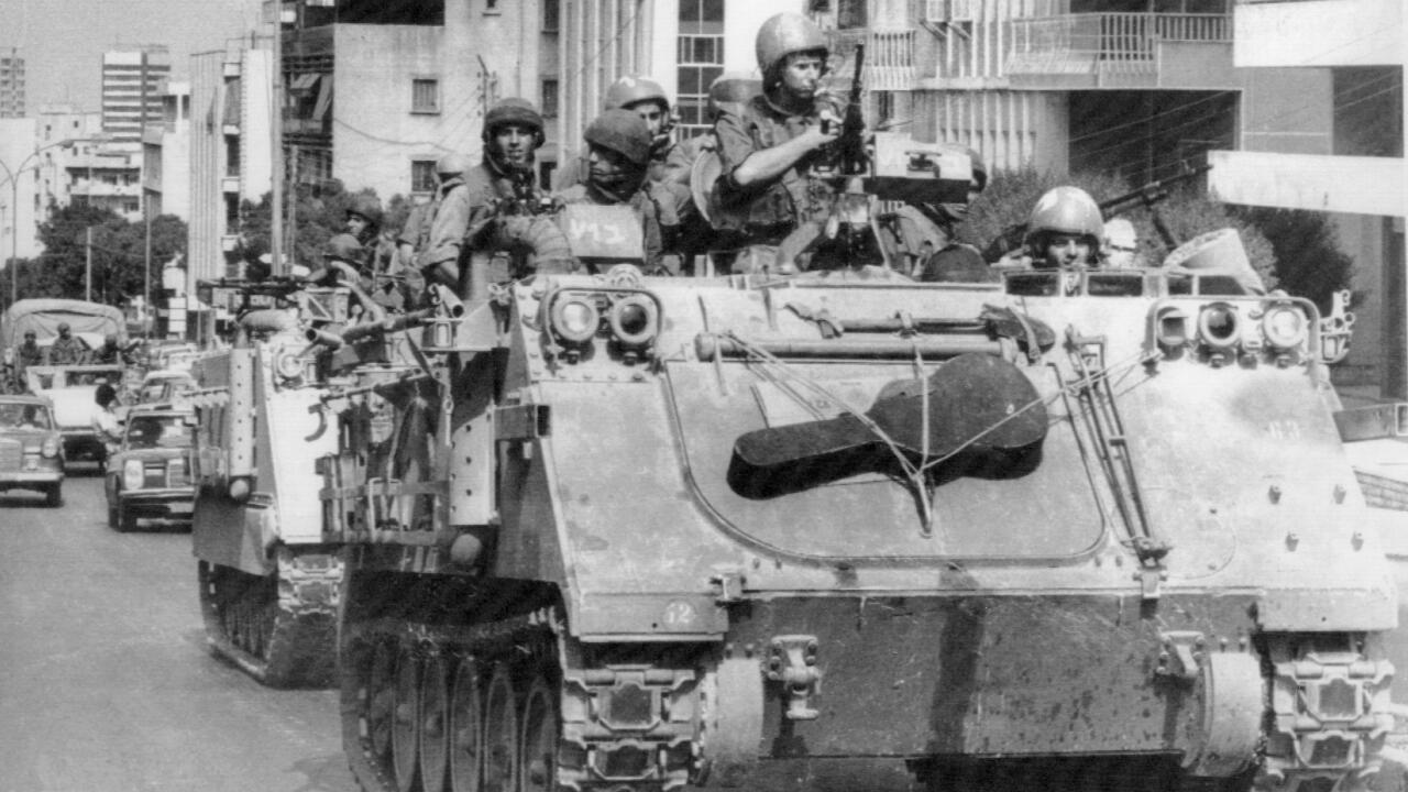 libano 100 anos israel en beirut