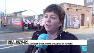 Rita Devlin, Royal College of Nurses