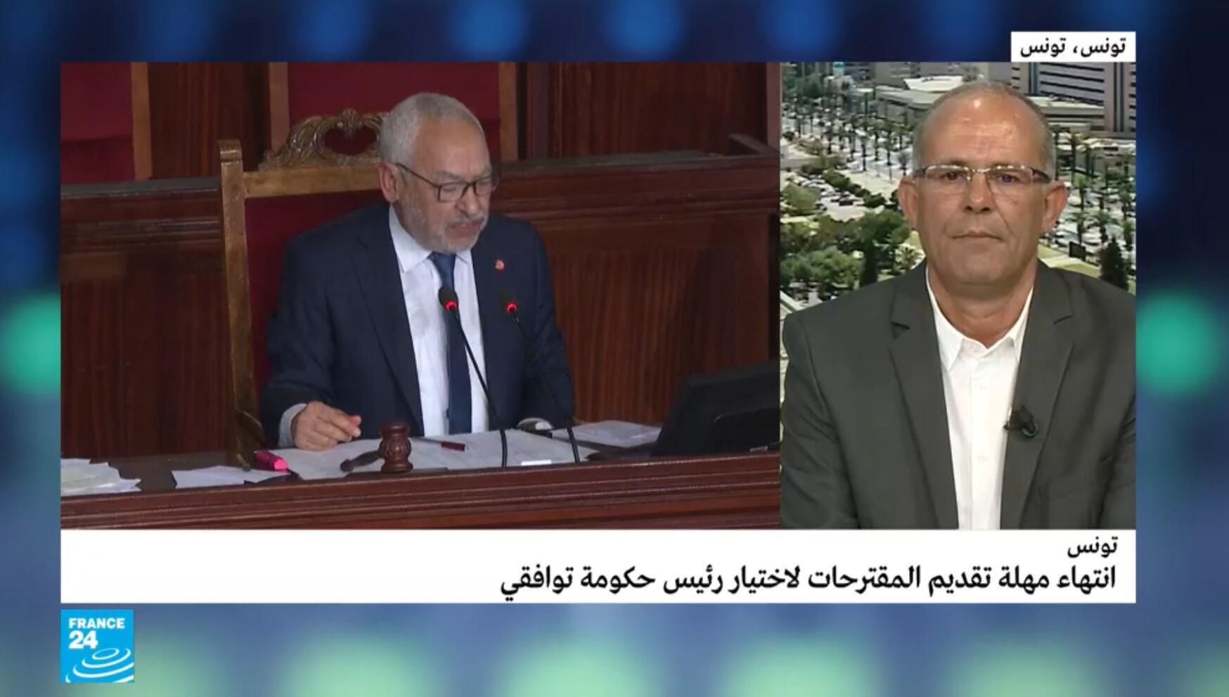 مراسل فرانس24 في تونس نورالدين مباركي