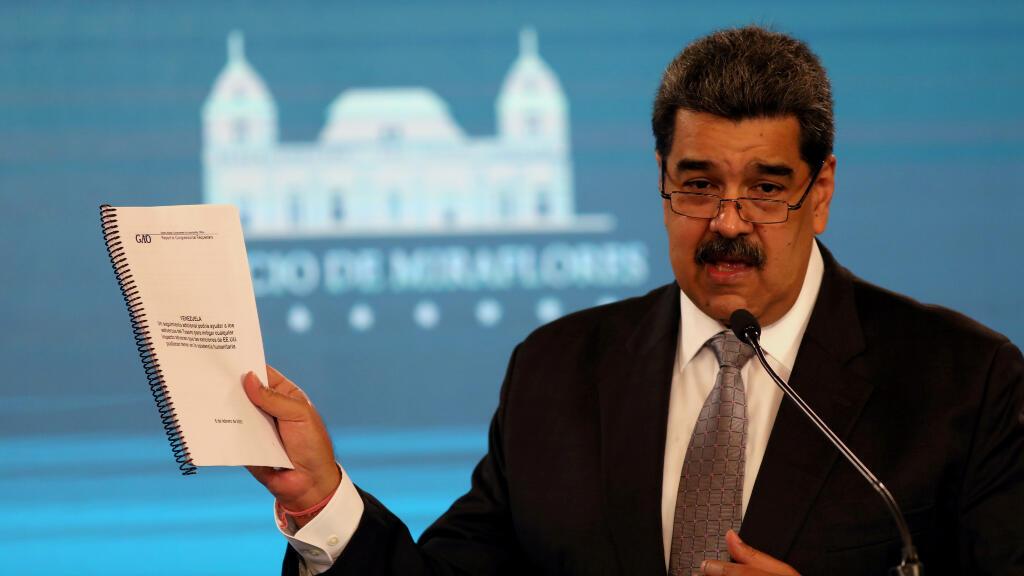 """Maduro ha garantizado este lunes que Venezuela trabajará """"decididamente"""" con Naciones Unidas y ha vuelto a reclamar el levantamiento de las sanciones que pesan sobre la nación."""