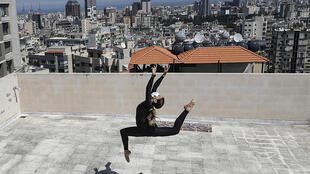'It's better than rehearsing in the theatre in some ways,' Tunisian dancer Sherazade Mami said of her rooftop