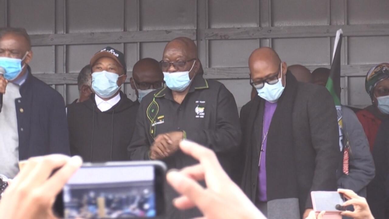 South Africa police await new court orders over Zuma jail sentence