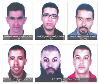 عنصر وسط صفحة-تونس- صور المشتبه في مقتل المناضل التونسي شكري بلعيد-20130414