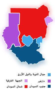 السودان: التقسيم الإداري
