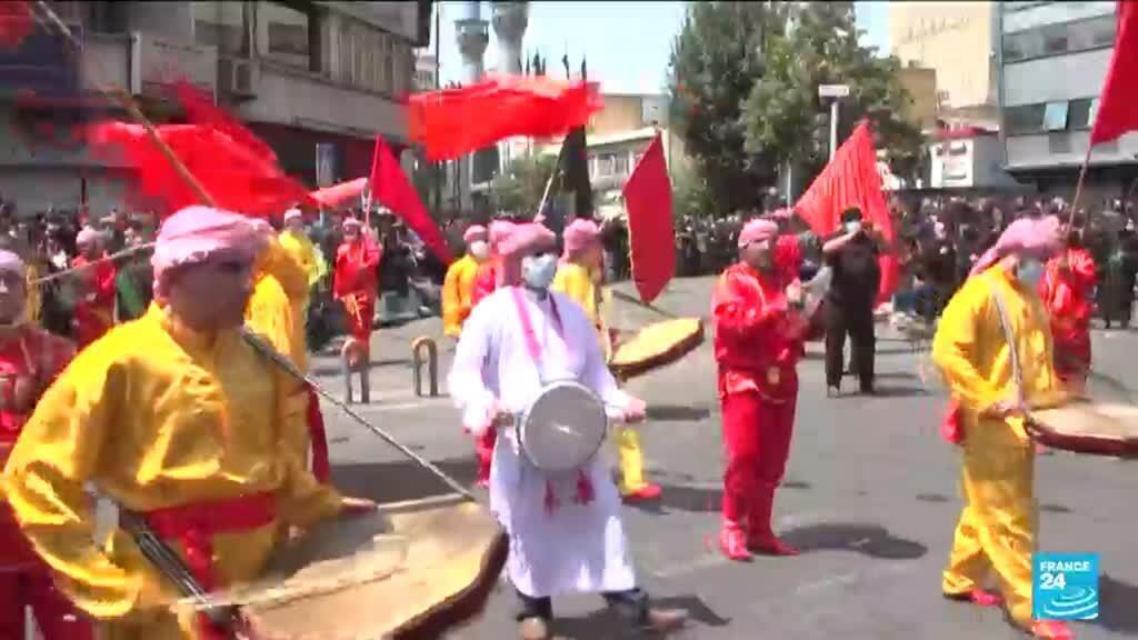 2021-08-20 08:09 Iran : les pèlerins chiites au rendez-vous de l'Achoura malgré la pandémie de Covid-19
