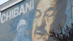 """C'est le street artiste Vince qui a réalisé cette fresque intitulée """"Le chibani""""."""
