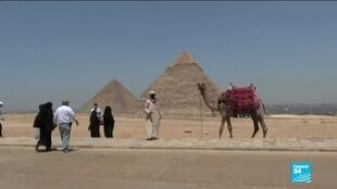 2020-07-02 10:11 Egypt's World-famous tourist sites and pyramids begin to reopen