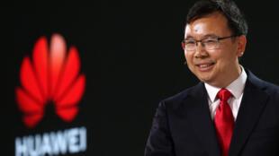 El presidente de la Línea de Producto 5G de Huawei, Yang Chaobin, el 20 de febrero de 2020 en Londres