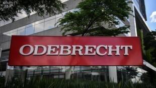 Sede central de la constructora brasileña Odebrecht en São Paulo, Brasil el 4 de diciembre de 2018.
