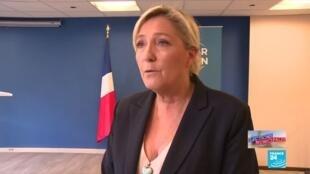 """2020-06-28 20:33 Municipales 2020 : Marine Le Pen : """"c'est la fin du front anti-républicain"""""""