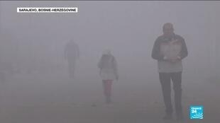 2020-01-17 11:11 Pollution dans les Balkans : Un gigantesque brouillard de pollution s'abat sur plusieurs villes