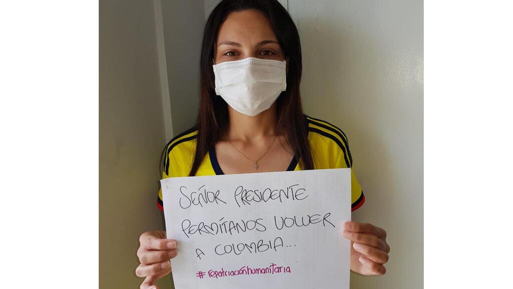 Ella es una de los 110 profesionales de salud que le piden al gobierno de Colombia que los deje regresar y salir de Cuba en medio del Covid-19.