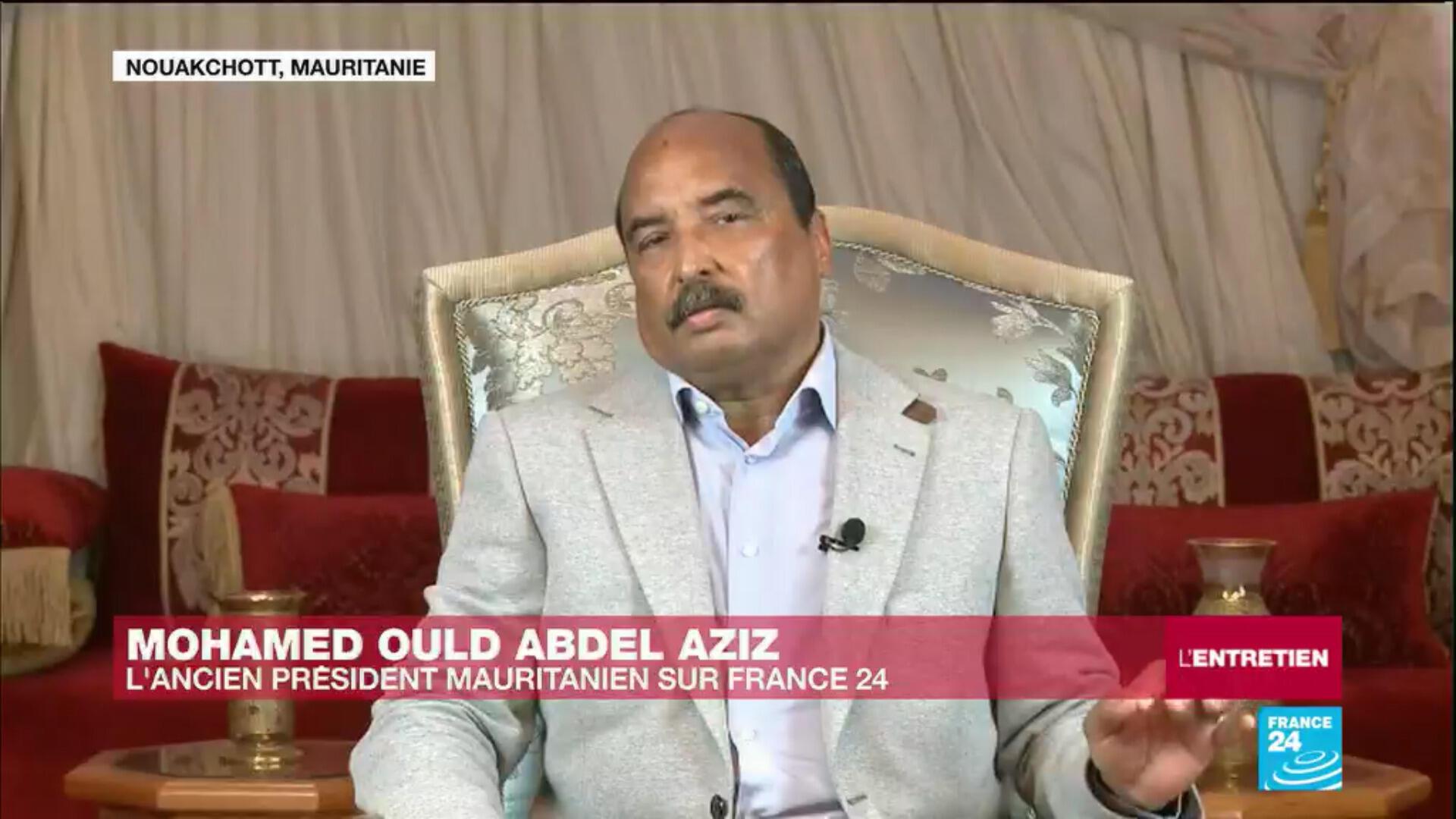 L'ancien président mauritanien, Mohamed Ould Abdel Aziz