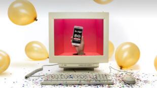 Entre Facebook et Tinder, votre productivité au travail est définitivement morte et enterrée. Champagne !