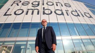 Presidente de la región de Lombardía, Roberto Maroni.