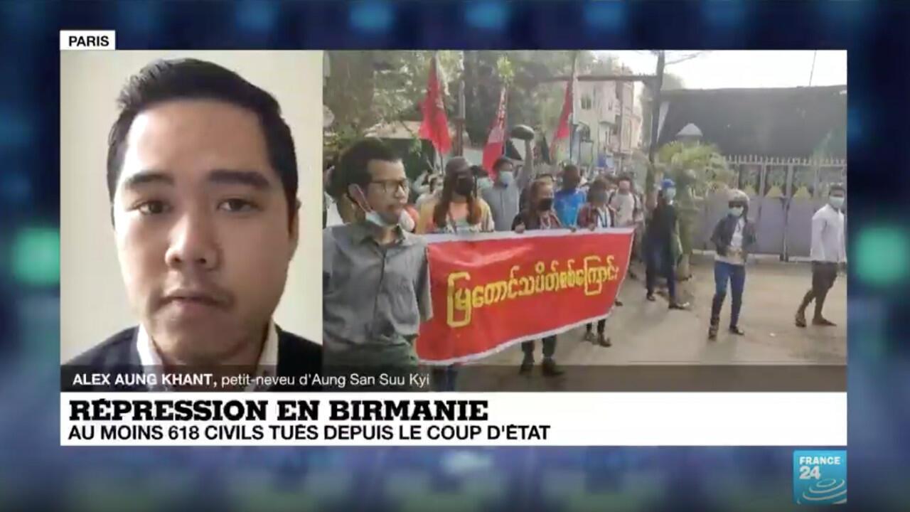 """Birmanie : """"Il y a une vraie possibilité que le pays tombe dans une guerre civile"""""""