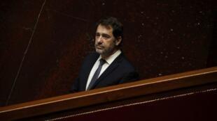 L'ex-ministre de l'Intérieur Christophe Castaner, le 31 mars 2020 à l'Assemblée nationale à Paris