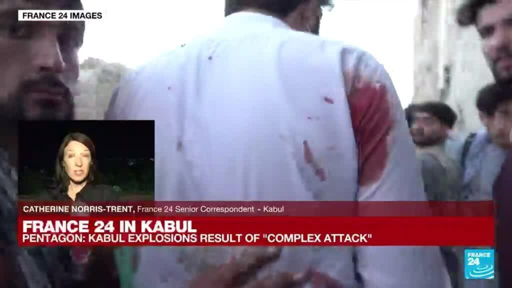 2021-08-26 18:02 'The death toll could be very high here indeed' Catherine Norris-Trent reports from Kabul
