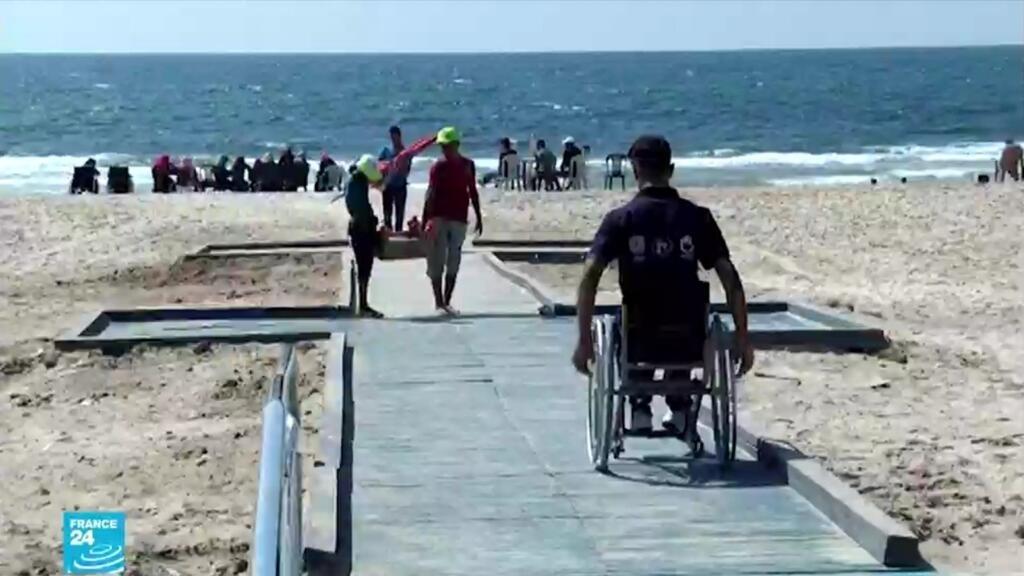 ريبورتاج: استراحة  الشاطئ المواءمة  الأولى من نوعها في قطاع غزة لذوي الاحتياجات الخاصة