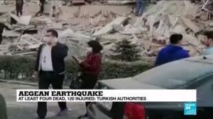 2020-10-30 16:01 Turkey earthquake triggers mini-tsunami