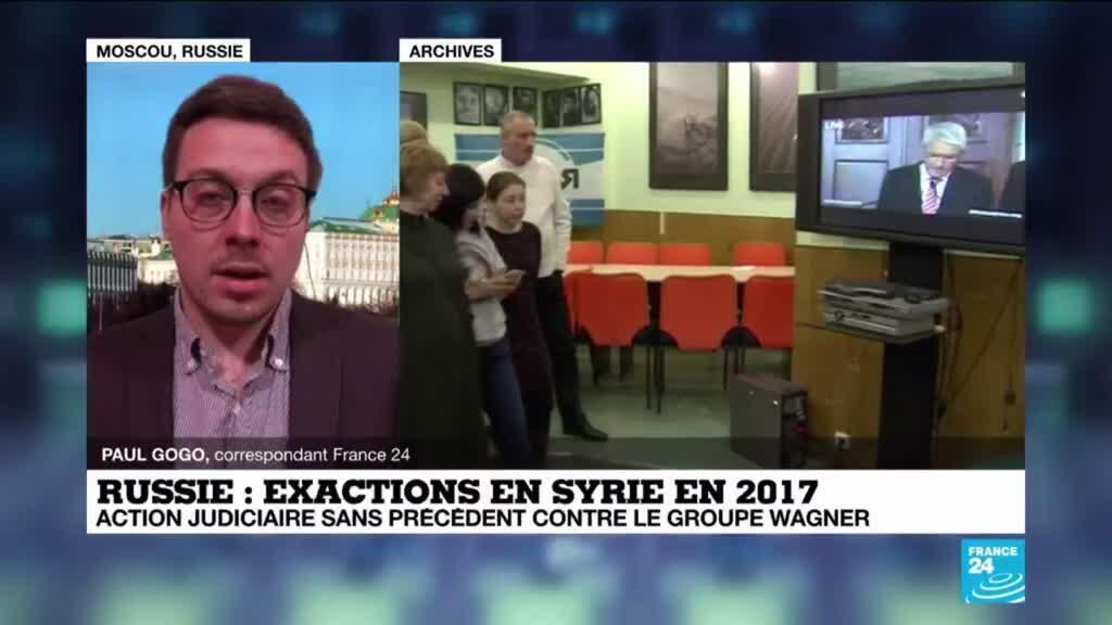 """2021-03-15 14:39 Une plainte en Russie contre des hommes de """"Wagner"""" pour le meurtre d'un Syrien"""