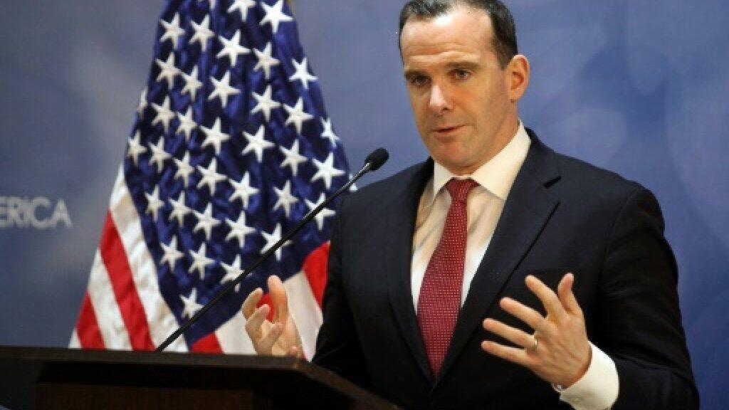 بريت ماكغورك الموفد الأمريكي لدى التحالف الدولي في 06 تشرين الثاني/نوفمبر 2018