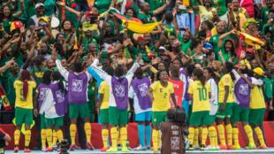 Les Camerounaises ont atteint les huitièmes de finale pour leur première participation à un Mondial.