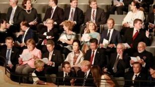 رؤساء دول وحكومات أقوى دول العالم في مدينة هامبورغ الألمانية