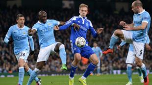 Manchester City a éliminé le Dynamo Kiev au terme d'une terne rencontre (0-0, 1-3 à l'aller).