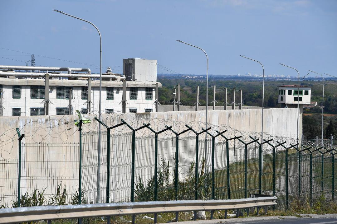 The Villeneuve-les-Maguelones prison near Montpellier pictured on March 26, 2020.