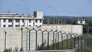 The Villeneuve-les-Maguelones prison near Montpellier pictured on March 26, 2020.