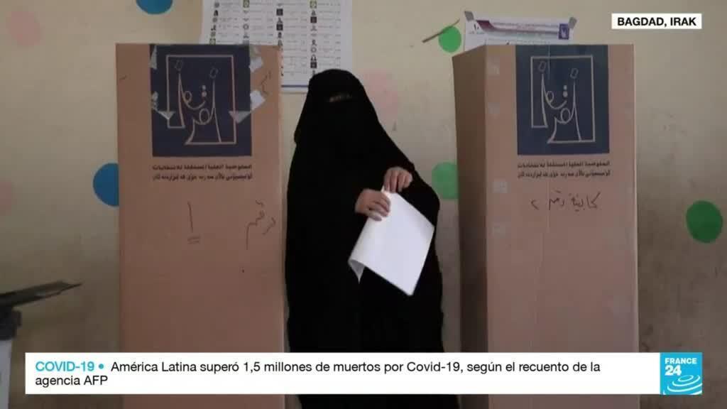 2021-10-10 14:32 Irak celebra unas elecciones marcadas por un fuerte escepticismo
