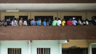 Les Gabonais ont voté en masse –ici à Libreville– pour élire leur nouveau président, le 27 août 2016.