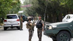 عناصر تابعة للقوات الأمنية الأفغانية