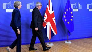 """Theresa May, la primera ministra británica, afirmó que el borrador del acuerdo es """"lo mejor para el Reino Unido"""", a pesar de ello son muchos los que no lo respaldan. 24 de noviembre de 2018."""