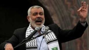 إسماعيل هنية رئيس حكومة حماس في قطاع غزة