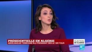 """2019-12-13 12:35 Présidentielle en Algérie : """"La rue considère que la page n'est pas tournée"""""""