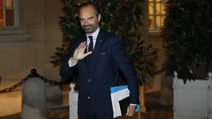 Le Premier ministre Édouard Philippe à Matignon, le 2 décembre 2018.