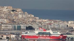 ميناء الجزائر العاصمة. 6 كانون الأول/ديسمبر 2017.