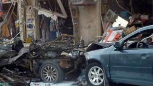 Un quartier de Bagdad frappé par un attentat, ce lundi