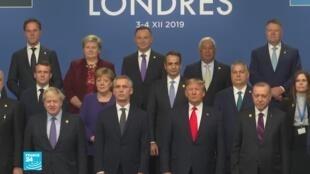 زعماء الحلف الأطلسي في قمة لندن، 4 ديسمبر/كانون الأول 2019