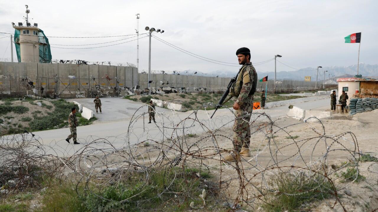 قرب سجن أفغاني