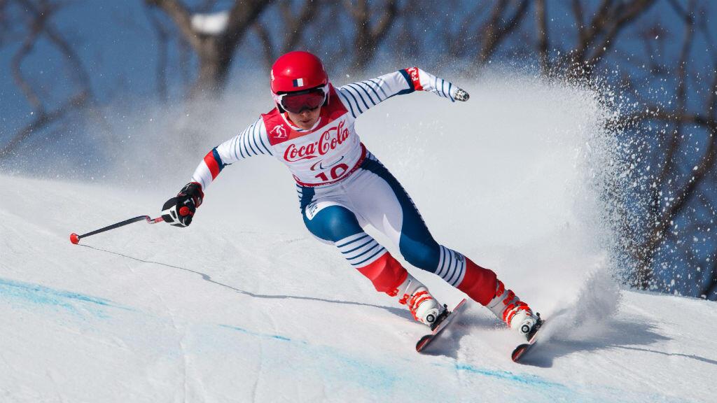Marie Bochet, quintuple médaillée d'or aux Jeux paralympiques.