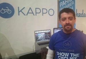 Le jeu sur mobile Kappo, créé par Ivan Paez Mora, est utilisé par 6000 cyclistes dans une cinquantaine de pays.