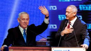 Según las encuestas a pie de urna, se registró un empate técnico entre los partidos de Benjamin Netanyahu y su principal rival, Benny Gantz.