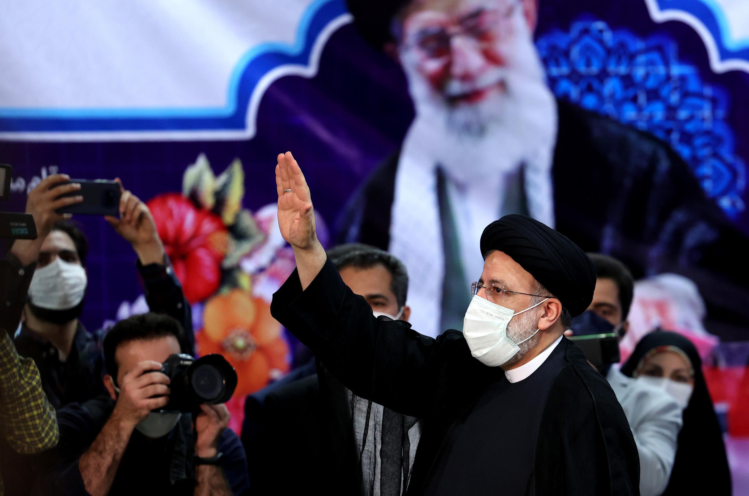 Iranian's ultraconservative judiciary chief Ebrahim Raisi was one of seven candidates approved for next month's election to replace moderate President Hassan Rouhani