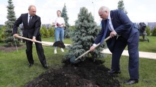 Russie Bielorussie Poutine Lukachenko