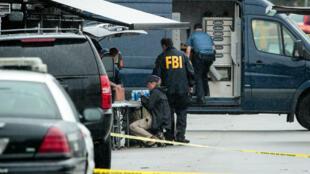 Le FBI sur les lieux de l'arrestation d'Ahmad Khan Rahami, principal suspect dans l'enquête sur l'explosion survenue samedi soir à New York.