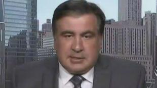 Mikheïl Saakachvili se trouve actuellement à New York.